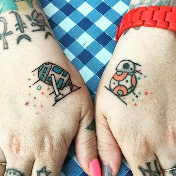 small hand tattoos for ladies
