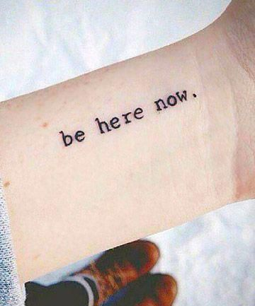 meaningful wrist tattoos for girls