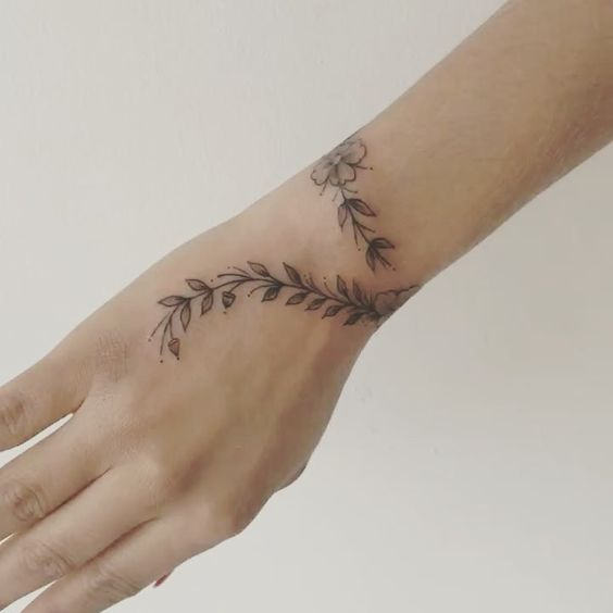 inspirational wrist tattoos