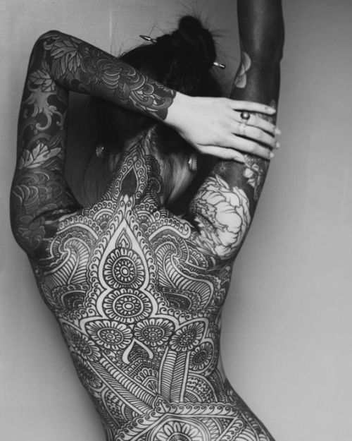 Female full body tattoos