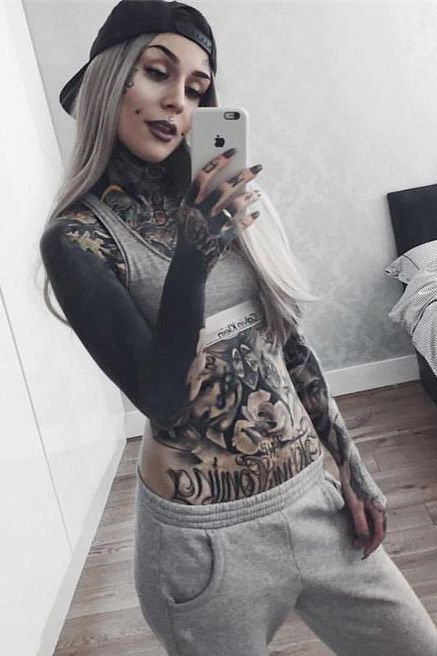 Full Body Tattoos Girl