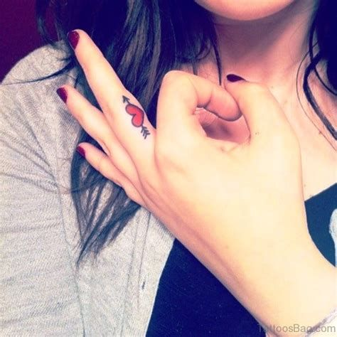 finger tattoos for girls