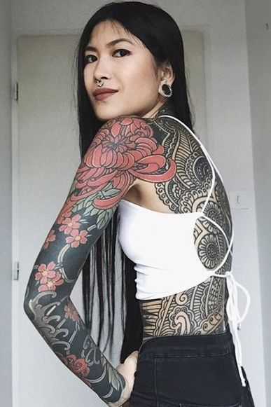 full Body Tattoos for women