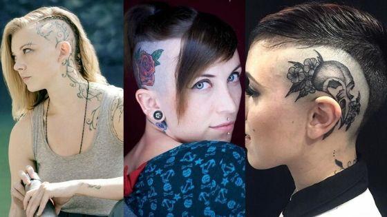 head tattoos designs thumbnail