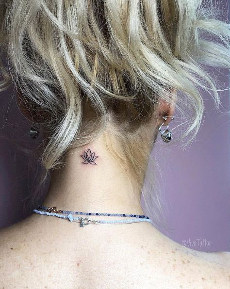 beautiful neck tattoo designs for women