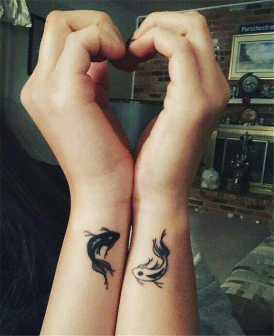 small fish tattoo ideas on wrist