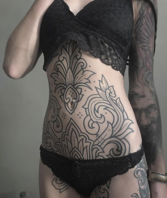 tattoo on stomach for females