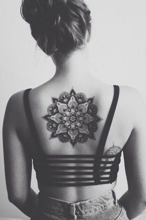 Mandala Tattoo back