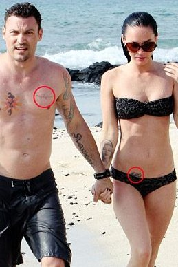 Megan Fox Matching tattoo