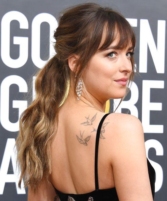 bird tattoos for women on back shoulder