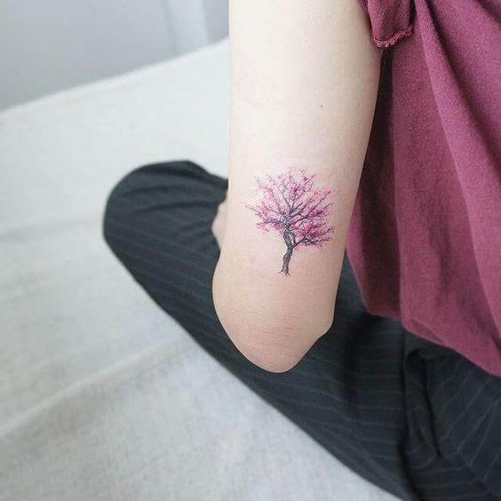 Tree Tattoo on upper arm