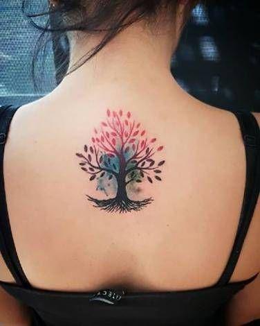 Tree Tattoo on back