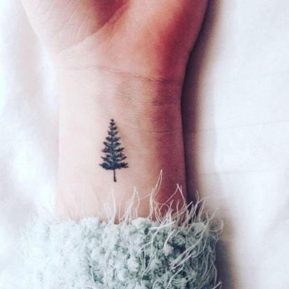 Tree Tattoo on wrist